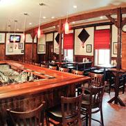 Mahogany Wood Bar Top in Yardley, PA