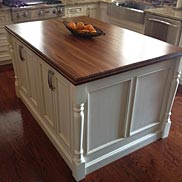 Sapele Mahogany Wood Countertop in Sylvania, OH