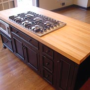 Hard Maple Wood Countertop in Princeton, New Jersey