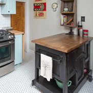Picture of Maple Wood Kitchen Countertops in Columbus, OH