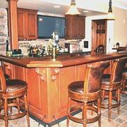 Sapele Mahogany Wood Bar Top MD