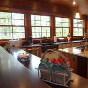 Sapele Mahogany Wood Countertops in Plover, WI