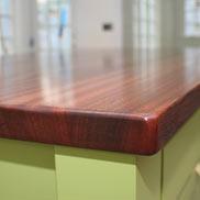Mahogany Wood Counter Auburndale MA