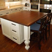 Sapele Mahogany Wood Countertop in Miami, FL