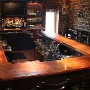Sapele Mahogany Wood Bar Top