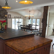 Teak Butcher Block Countertop in Old Forge, PA