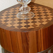 Walnut with Maple Butcher Block Countertop