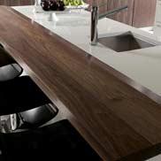 Walnut Wood Counter