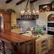 Walnut Wood Countertop in Winterpark, FL