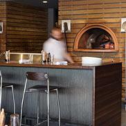 Walnut Wood Countertop Bar
