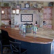 Walnut Wood Counter in Colorado