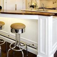 Walnut Wood Kitchen Bar Top in California