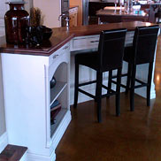 Walnut Wood Countertop in Ontario Canada with Waterproof Durata® Finish