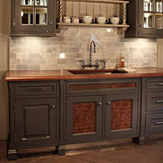 Custom Walnut Wood Counter in Philadelphia, PA