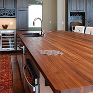 Walnut Countertop in North Dakota