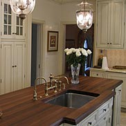 Walnut Wood Countertop in Villanova, PA