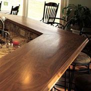 Wood Bar Top in Virginia