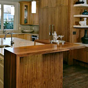 Walnut Wood Countertop in VA