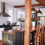 Walnut Wood Countertops in Chevy Chase, MD