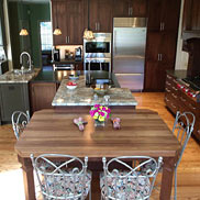Walnut with Sapwood Wood Counter in Delaware