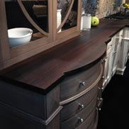 Wenge Countertops in Bremtown Cabinetry booth at KBIS 2014