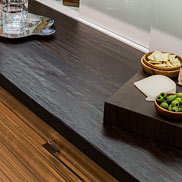Wenge Wood Counter in Boston, Massachusetts
