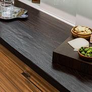 Wenge Wood Counter in Boston, Massachusetts