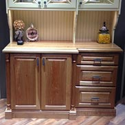 White Oak Counter in Elkay Display Booth at KBIS 2014