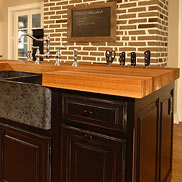 White Oak Wood Countertop