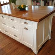 White Oak Wood Countertop in Moorestown, NJ