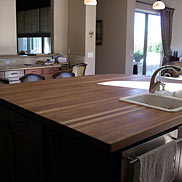 Custom White Oak Wood Countertop in Las Vegas