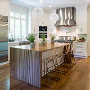 Zebrawood Pastore™ Table for a kitchen in Memphis, TN