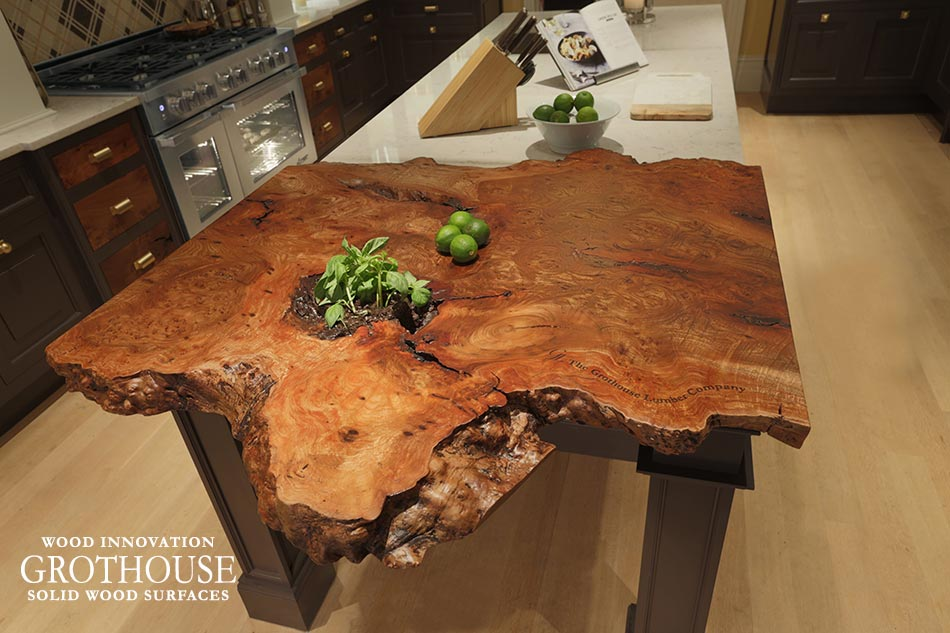 Live Edge Counter In Kips Bay Decorator Showhouse 2015