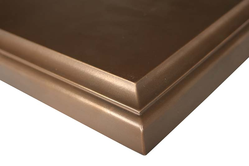 Medallion Metal Countertops by Grothouse