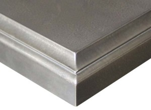 Argentum Metal Countertops by Grothouse