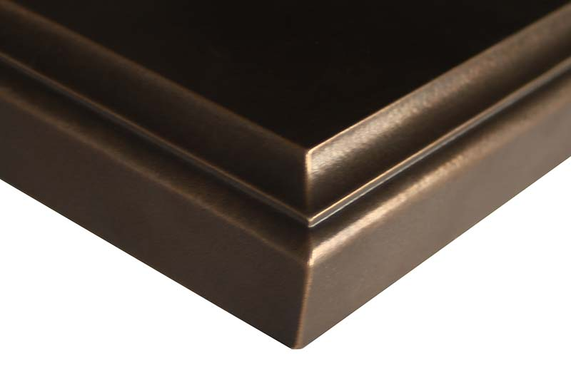 Exodus Metal Countertops by Grothouse
