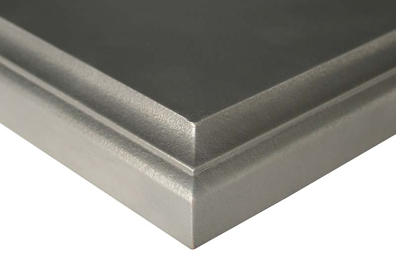 Axel Metal Countertops by Grothouse