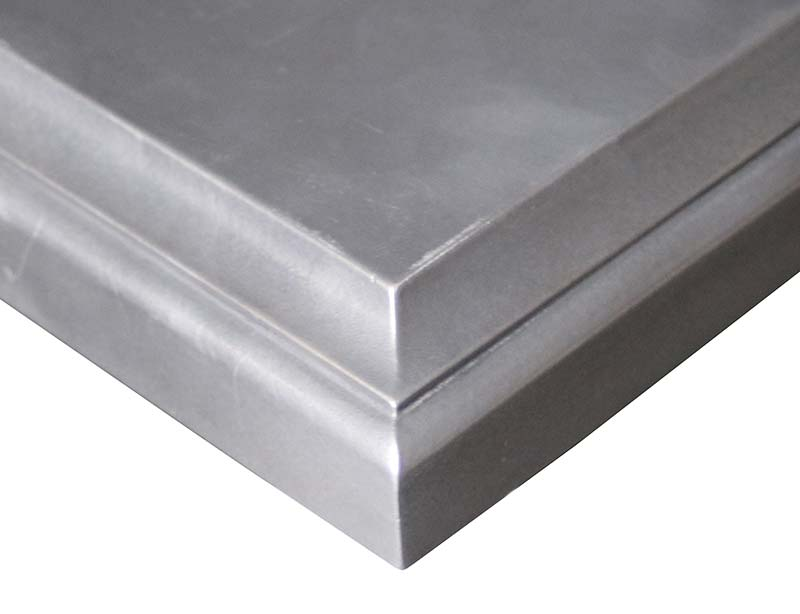 Palladium Metal Countertops by Grothouse