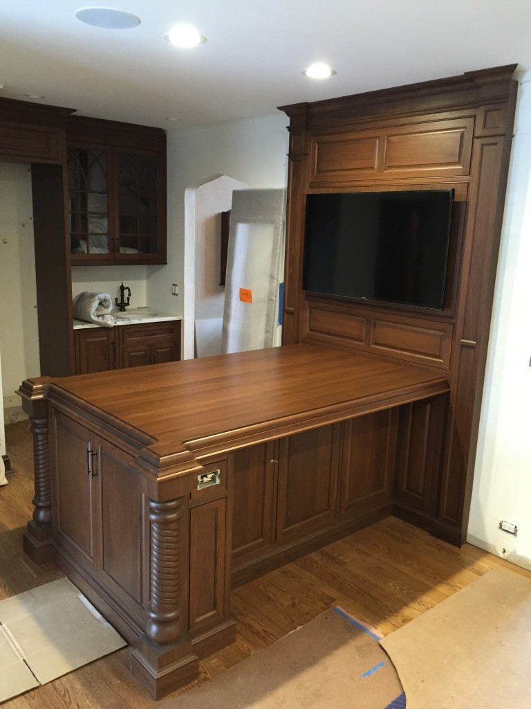 Walnut Wood Countertop Review in Summit, New Jersey