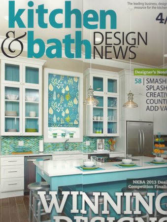 Kitchen & Bath Design News April 2013 Wenge Wood Countertop