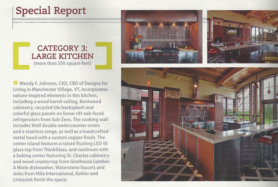 Kitchen U0026 Bath Design News April 2013. Wenge Wood Countertop