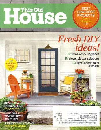 Maple Wood Countertop in This Old House® March 2013 Issue