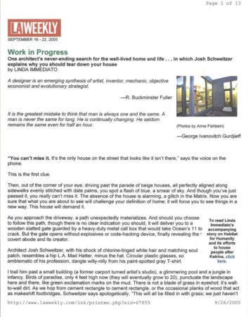 Butcher Block Countertop Article on LA Weekly.com