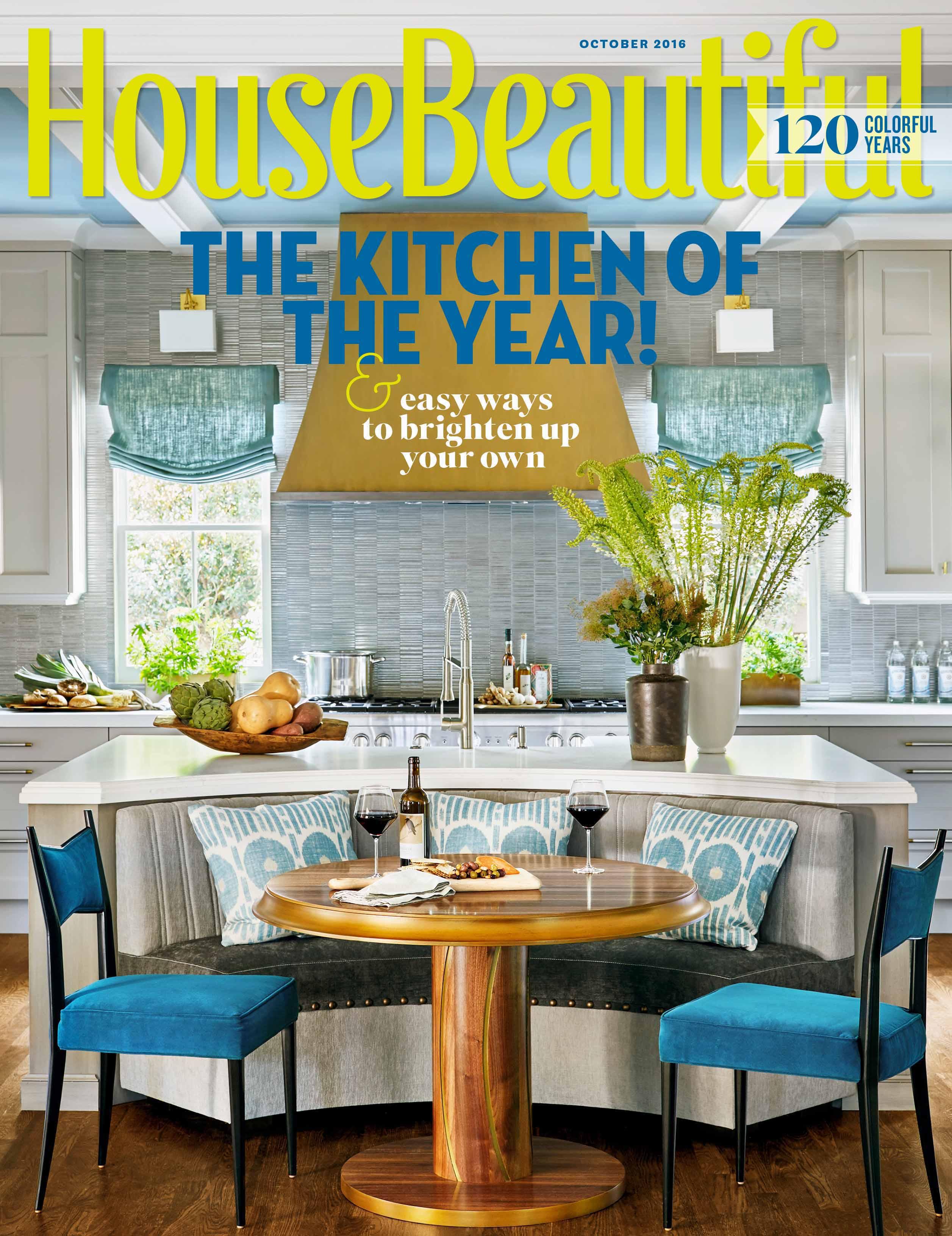 House Beautiful Magazine Grothouse On The Cover Of House Beautiful Magazine October 2016