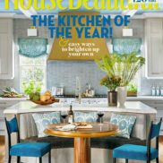 Grothouse Table and Counter in House Beautiful October 2016