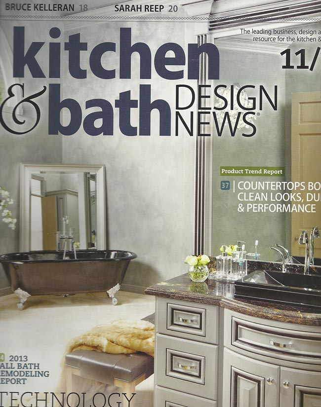 Wood Countertop In Kitchen Bath Design News Fall 2013