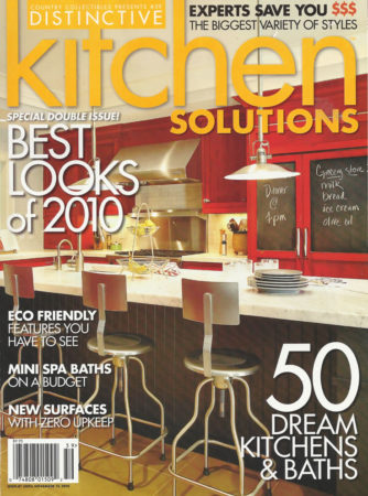 Custom Wood Countertops in Distinctive Kitchen Solutions