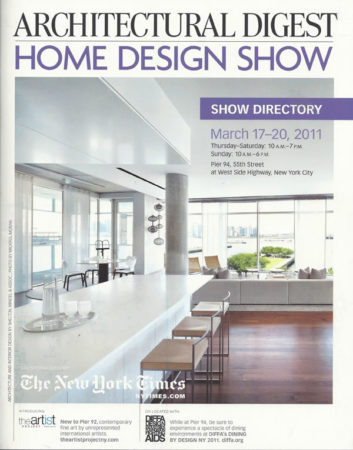 Grothouse Wood Surfaces in Architectural Digest Home Show