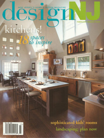 Grothouse Teak Wood Table Top in Design New Jersey Magazine