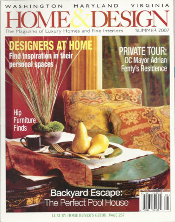 Wood Island Countertop Article in Home & Design Magazine
